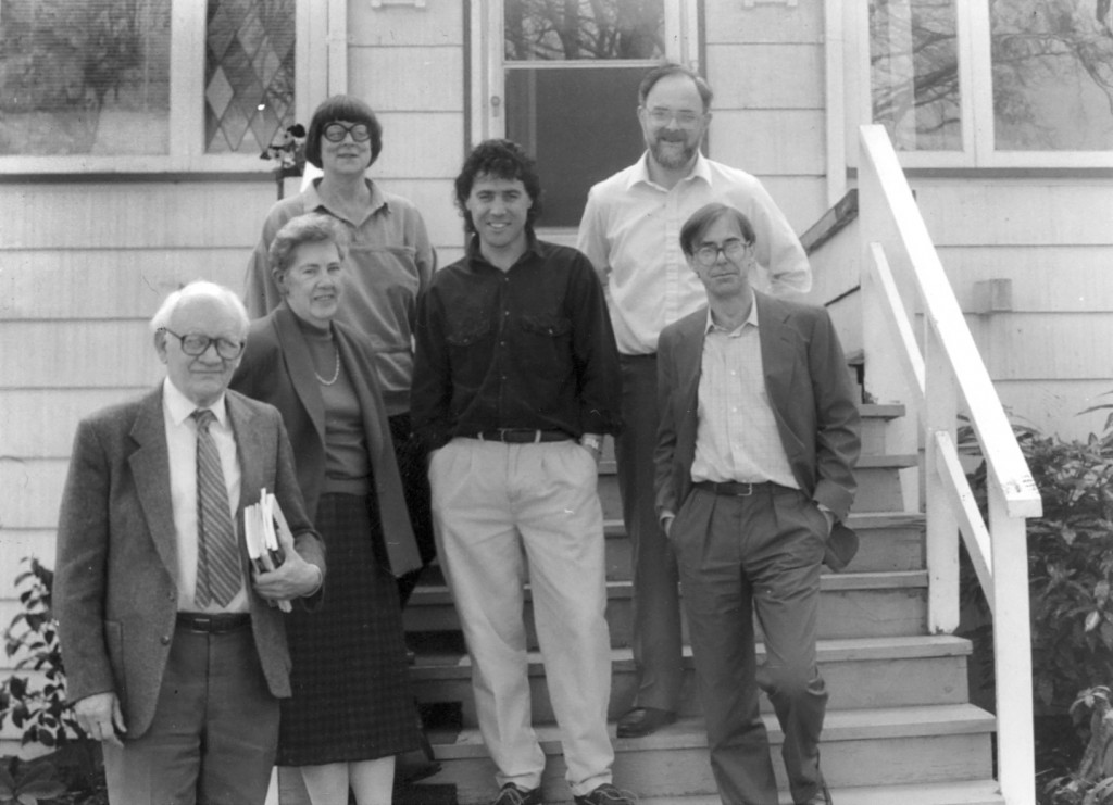 Twigg, Alan and first Pacific BookWorld board horiz
