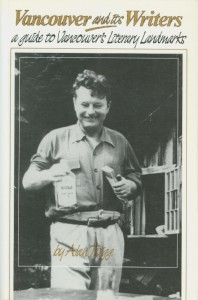 Malcolm Lowry at his squatter's shack, Dollarton, North Vancouver