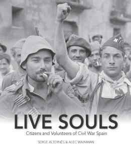 Alternes, Serge book jacket Live Souls