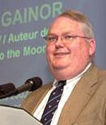 Gainor, Chris at podium