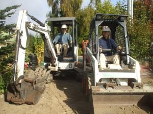 Teuwen Thomas & Laura bulldozer 2