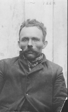"Miner's accomplice William 'Shorty' Dunn was described as ""a savage-looking man"" with a legwound."