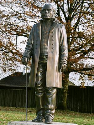 Statue of James Douglas, Fort Langley