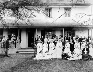 Marriage of Martha Douglas to Dennis Harris, 1878