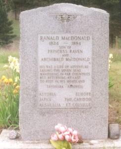 Ranald MacDonalds grave