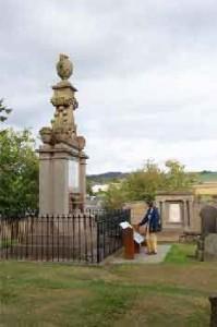 David Douglas memorial scone today.
