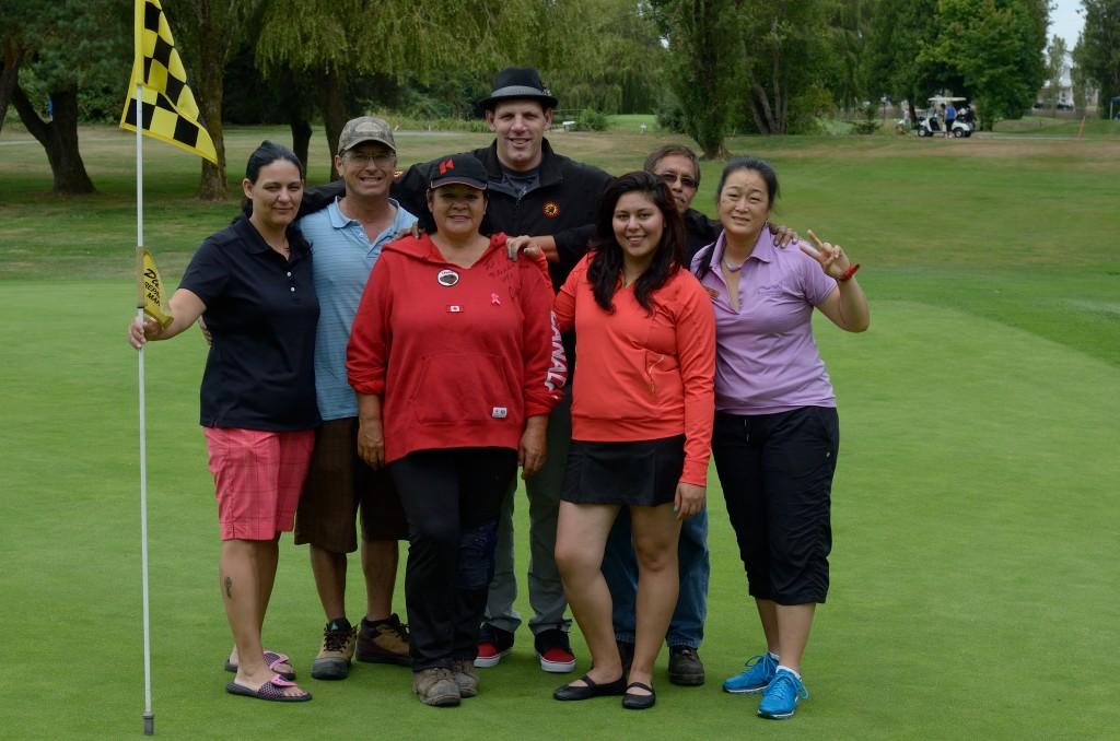 Odjick, Gino with Musqueam Golf crew
