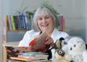 Children's literature maven Judith Saltman celebrates D&M titles, starting with A Salmon for Simon.