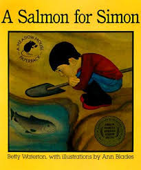 "Kidlit classic ""A Salmon for Simon"""