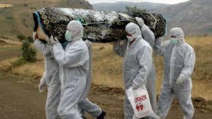 Ebola pallbearers