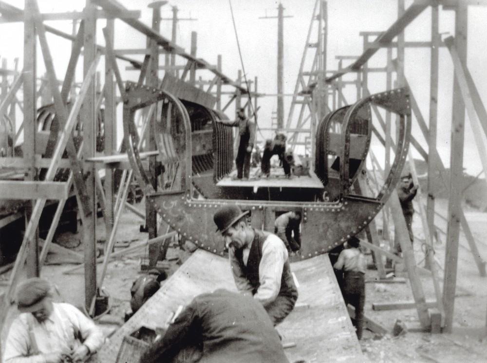 Dickson submarine shipyard