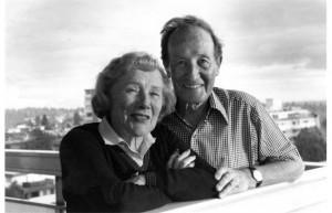 Koerner, John with Eileen Newby 1991