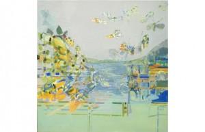 Lperner, John painting abstract