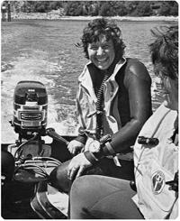 Pratt-Johnson, Betty wetsuit