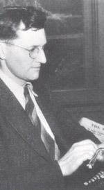 Hutchison, Bruce b&w typewriter