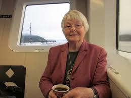 Keller, Betty on ferry