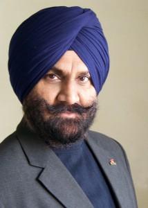 Singh, Jarnail blue turban