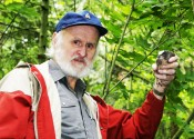 """According to B.C.'s leading bird expert R. Wayne Campbell, artist and birdwatcher Glenn Ryder (above) was """"the most committed and experienced naturalist the province has known."""""""