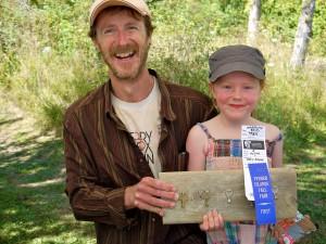 Boyd, David with daughter Meredith Fall Fair 2012