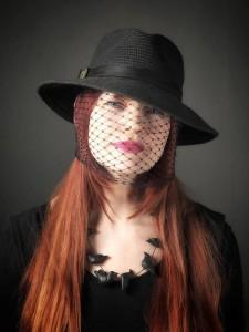 Hayley, Heather veil headshot