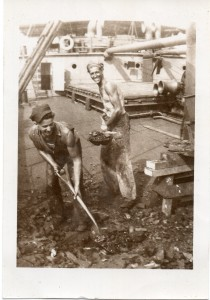 Shreve,Sandy_dad shovelling coal