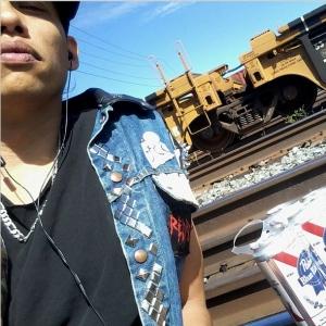 Jackson, Zaccheus last selfie on train tracks