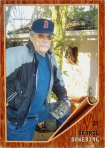 Bowering, George baseball card