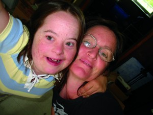 Inseparable: Mielle and mother Kari Burk