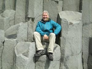 Rhenisch, Harold basalt columns called Reynisdrangar, Hveragardi to Vik