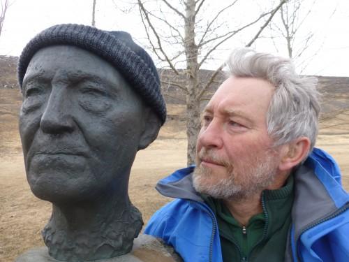 Rhenisch, Harold with Gunnarsson bust1