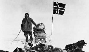 Ruzesky, Jay Amundsen at pole