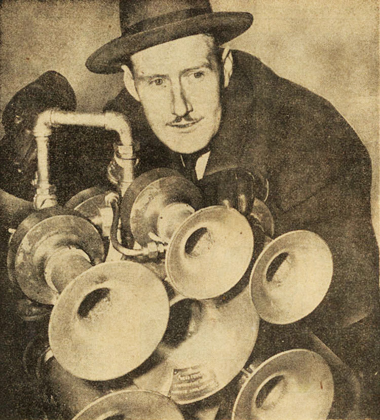 Robert Swanson, 1949