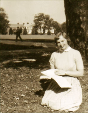 After high school in Oak Park, Carol Shields went to Hanover College in 1953.