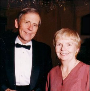 Carol Shields and her husband Don.