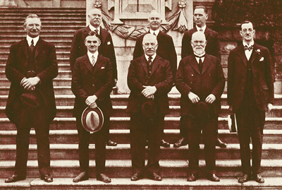 The original Vancouver Burns Fellowship society, 1924.