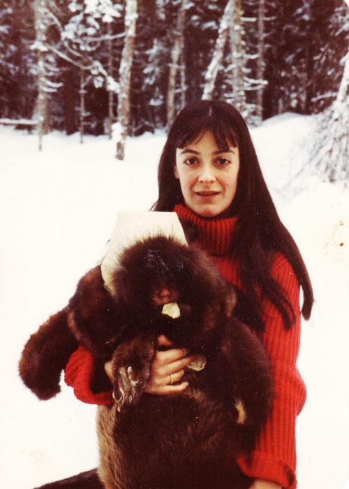 Deanna Kawatski with Natalia.