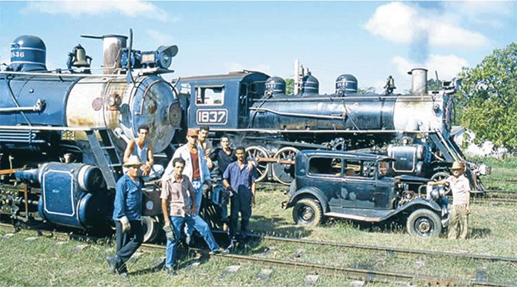 Vintage Cuban train.
