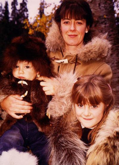 Deanna Kawatski,-Deanna with her kids.