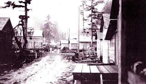 Zeballos, west coast of Vancouver Island