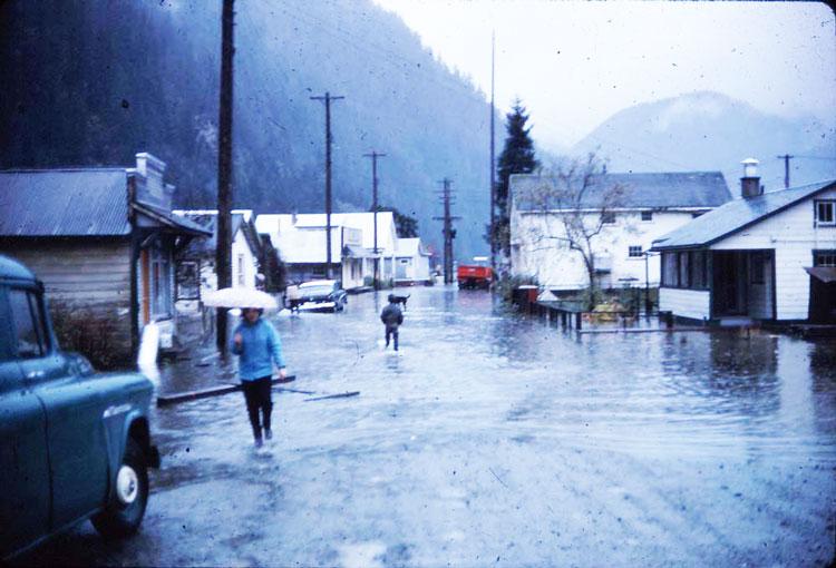 Zeballos, west coast of Vancouver Island.