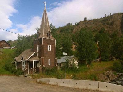 St. Aidan's Anglican Church, Telegraph Creek