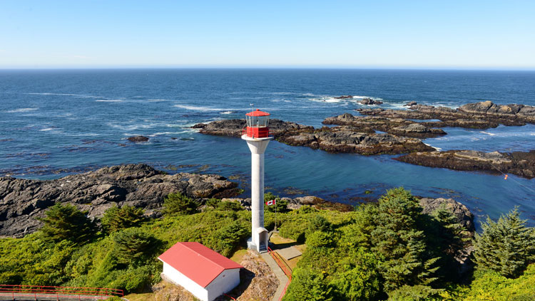 Lennard Island lighthouse.