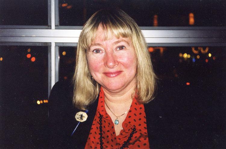 Carolyn Zonailo, early-1990s.