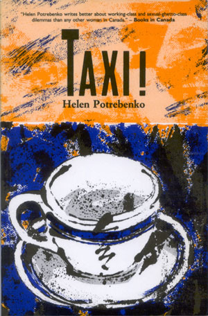 Cover art for the 1989 New Star Books version of Taxi!