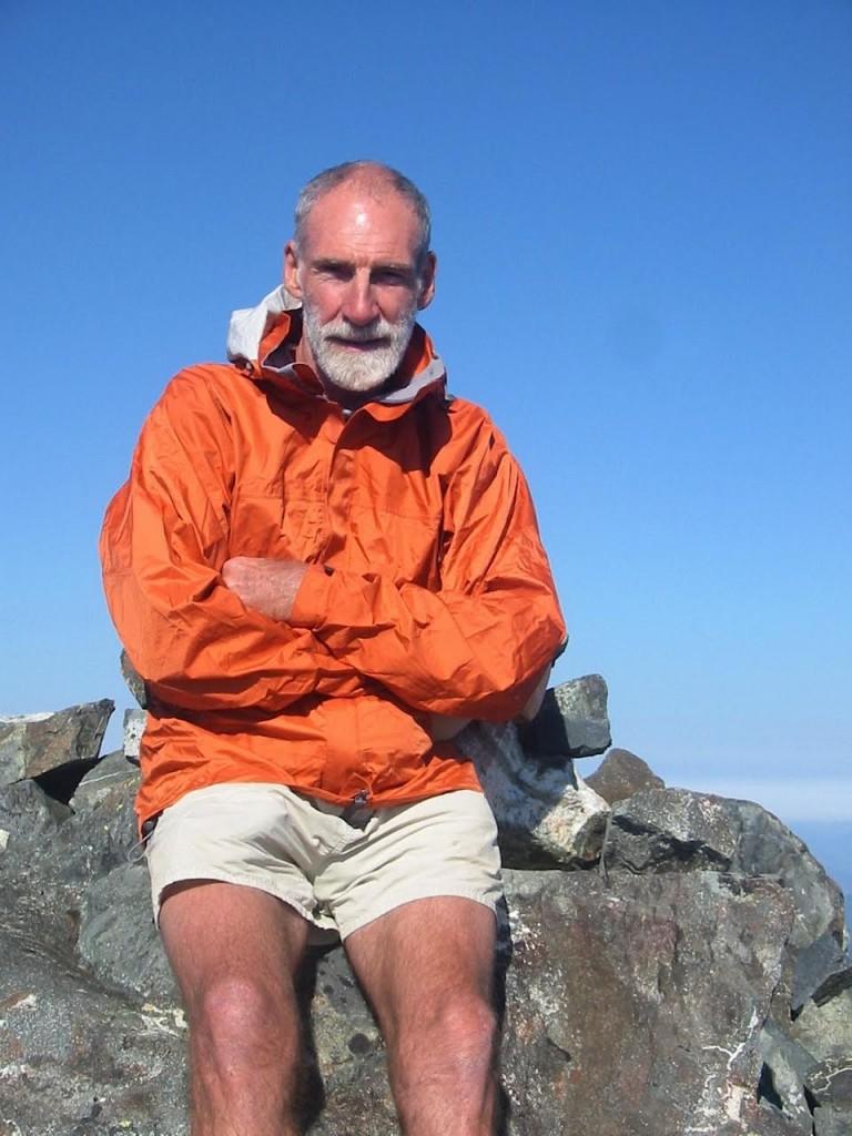 Crouch, John orange jacket