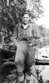 Haig-Brown, Roderick logger suspenders