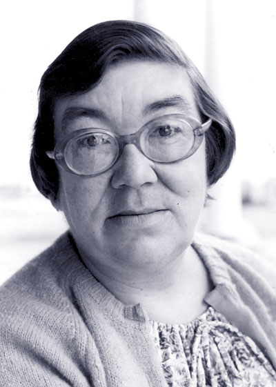 Margaret Laurence. Photo by Alan Twigg.