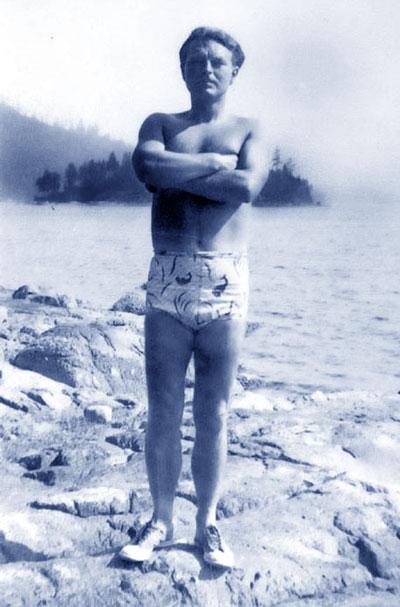 Malcolm Lowry, Dollarton, 1946.