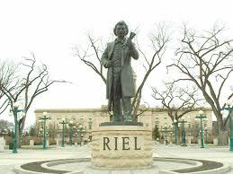Riel, Louis statue