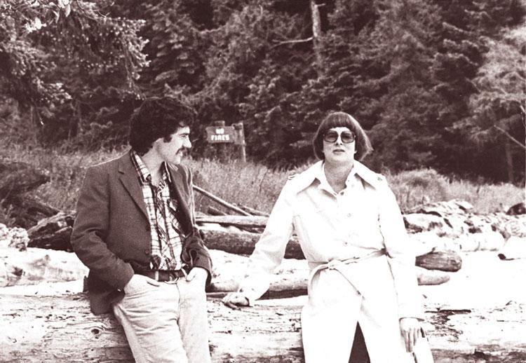Jane Rule with Alan Twigg